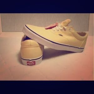 Authentic Style Pale Yellow Vans